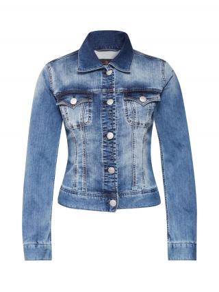 Herrlicher Prechodná bunda Joplin  modrá denim dámské XS