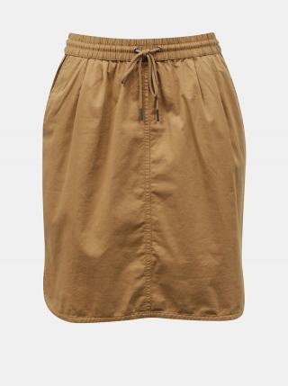 Hnedá sukňa s vreckami ZOOT Baseline Otelia dámské XL