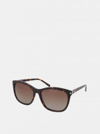 Hnedé dámske slnečné okuliare Crullé dámské hnedá
