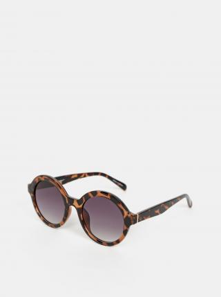 Hnedé slnečmé okuliare VERO MODA Alma hnedá