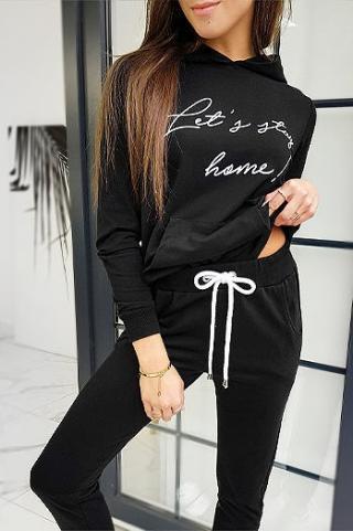 HOME womens black set AY0363 dámské Neurčeno One size