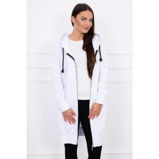 Hooded dress with a hood white dámské Neurčeno One size