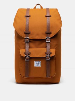 Horčicový batoh Herschel Supply pánské horčicová