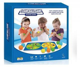 Hra Clamp Ball Pestrofarebná