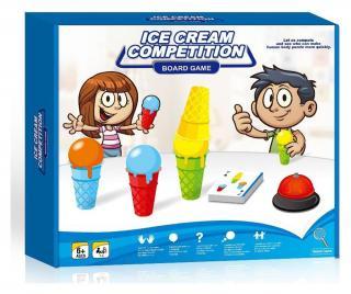 Hra Ice Cream Competition Pestrofarebná