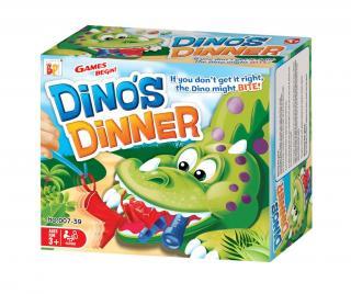 Hra zručností Dino's Dinner Pestrofarebná