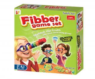 Hra zručností Fibber Pestrofarebná