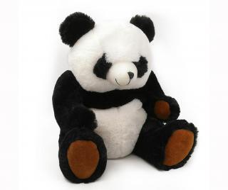 Hračka pre koliku Thermo Teddy Panda Pestrofarebná