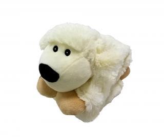 Hračka White Sheep Krémová