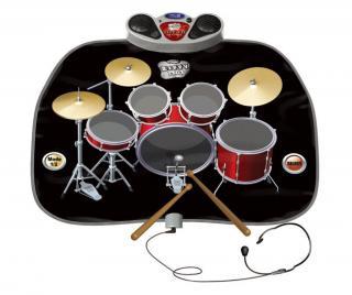 Hudobný koberček s aktivitami Drum Kit 60x78 cm 60x78 cm