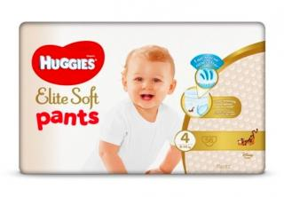 HUGGIES Elite Soft Pants jednorázové plienky veľ. 4, 56 ks