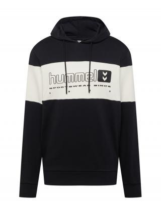 Hummel Mikina  čierna / zmiešané farby / biela pánské XXL