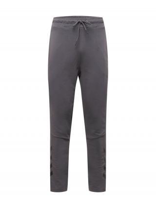 Hummel Športové nohavice  sivá melírovaná pánské XXL