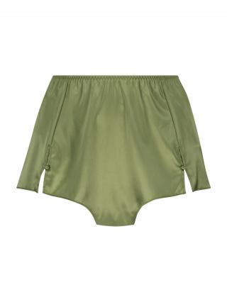 Hunkemöller Pyžamové nohavice Amelia  zelená dámské S