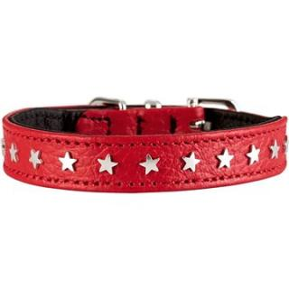 Hunter obojok Capri Mini Star, červený 20 – 24 cm