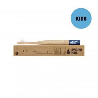 Hydrophil Bambusový kefka pre deti  Modrý