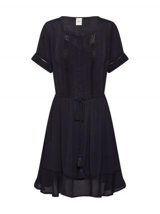 ICHI Košeľové šaty FERNANDA DR  čierna dámské 34