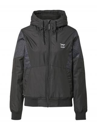 Iriedaily Prechodná bunda Blotchy  čierna / tmavosivá dámské XS
