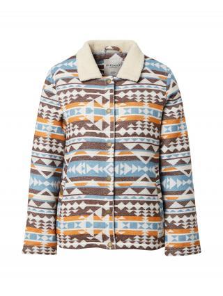 Iriedaily Prechodná bunda Team Sherpa  béžová / zmiešané farby dámské XL