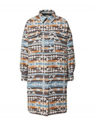 Iriedaily Prechodný kabát  béžová / zmiešané farby dámské XL