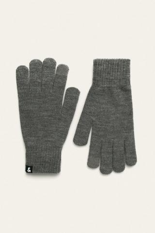 Jack & Jones - Rukavice pánské sivá ONE SIZE