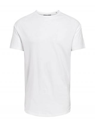 JACK & JONES Tričko  biela pánské L