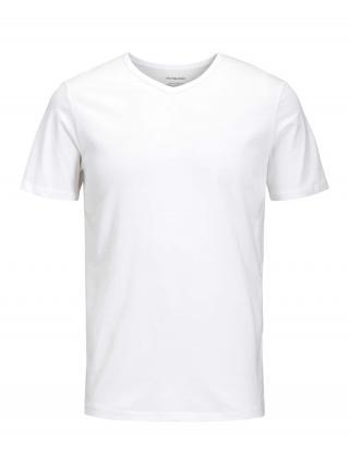 JACK & JONES Tričko  biela pánské S