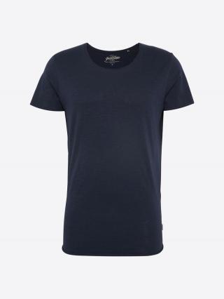 JACK & JONES Tričko  námornícka modrá pánské XL