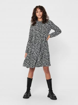 Jacqueline de Yong čierne košeľové šaty Piper - XS dámské čierna XS