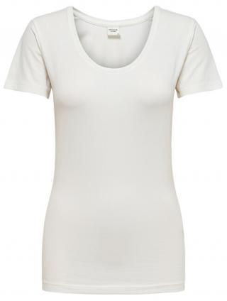 Jacqueline de Yong Dámske tričko Ava Ss Top Jrs Noos Cloud Dancer XL