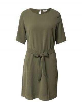 JACQUELINE de YONG Letné šaty  kaki dámské 34