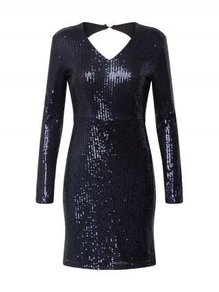 JACQUELINE de YONG Šaty  čierna / modrá dámské 34