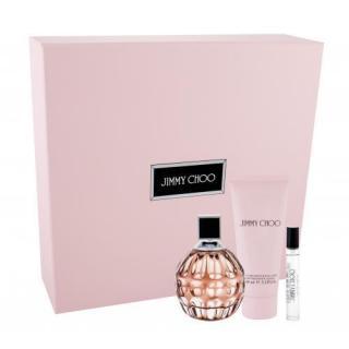 Jimmy Choo Jimmy Choo darčeková kazeta parfumovaná voda 100 ml   telové mlieko 100 ml   parfumovaná voda 7,5 ml pre ženy dámské