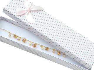 JK Box Bodkovaná krabička na náramok KK-9 / A1 / A6