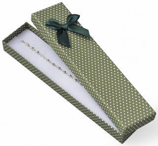 JK Box Bodkovaná krabička na náramok KK-9 / A19