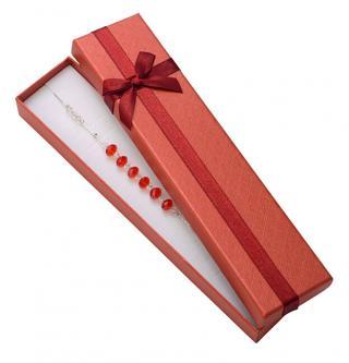 JK Box Červená krabička na náramok AT-9 / A10
