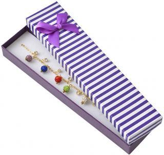 JK Box Darčeková krabička na náramok alebo náhrdelník CB-9 / A6