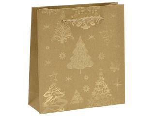 JK Box Vianočná darčeková taška KX-98 / AU pánské
