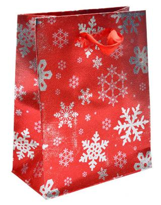 JK Box Vianočná darčeková taška TM-5 / A7 / XS dámské