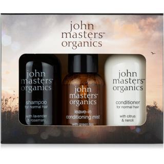 John Masters Organics Lavender Rosemary cestovná sada III.  dámské