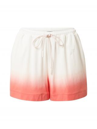 JOOP! Bodywear Pyžamové nohavice  oranžovo červená / biela dámské M