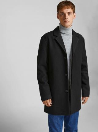 Kabáty pre mužov Jack & Jones - čierna pánské S