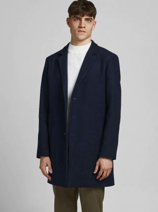 Kabáty pre mužov Jack & Jones - tmavomodrá pánské S