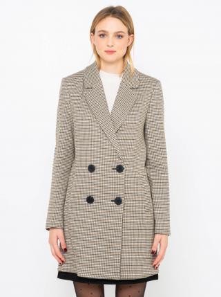 Kabáty pre ženy CAMAIEU - svetlosivá dámské XL