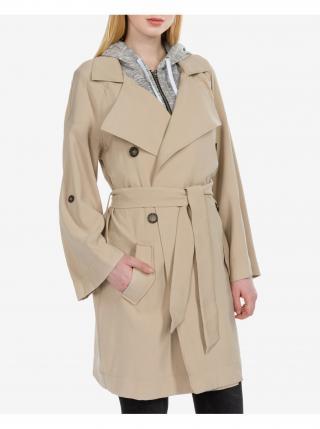 Kabáty pre ženy Guess - béžová dámské S