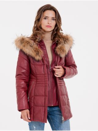 Kabáty pre ženy KARA - červená dámské L