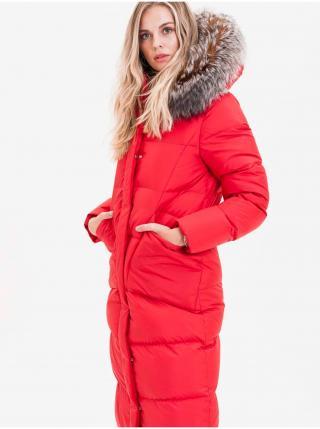 Kabáty pre ženy KARA - červená dámské M