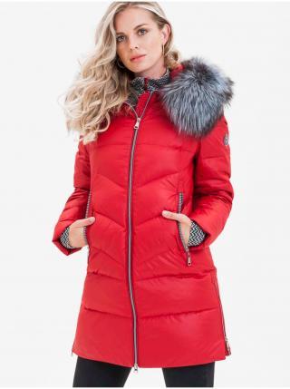 Kabáty pre ženy KARA - červená dámské S