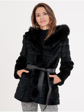 Kabáty pre ženy KARA - čierna dámské L