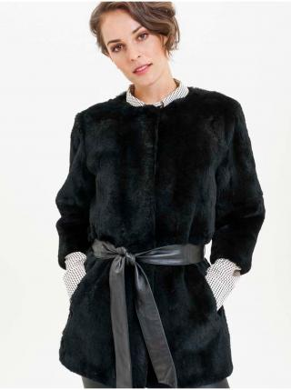 Kabáty pre ženy KARA - čierna dámské M